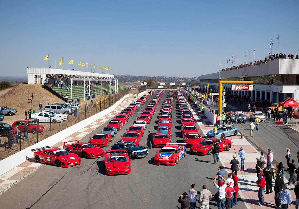 50 Years of Ferrari in SA Celebrated in Style